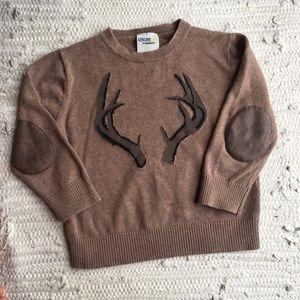 Deer Antler Sweater 4T
